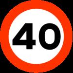 40km/h
